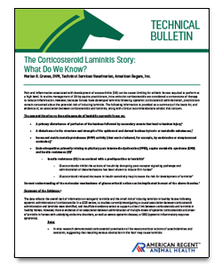 Laminitis Technical Bulletin icon